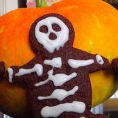 Biscuits squelettes (Halloween)