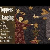 Applique with Jan Patek-Tree Toppers Wall Hanging