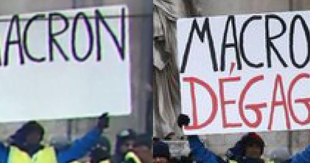 """Non aux""""consultations""""! Non au RIC! Macron dehors! Assemblée Constituante!"""