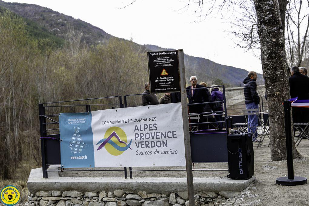 La Mure Argens  : ouverture et inauguration des extérieurs de la Minoterie de la Mure Argens