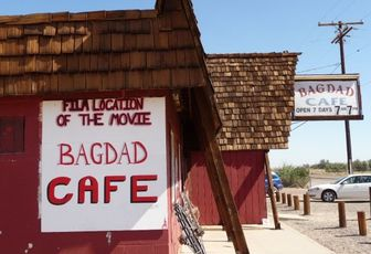 USA 2008 - part 8 – Road 66 and Bagdad Café.