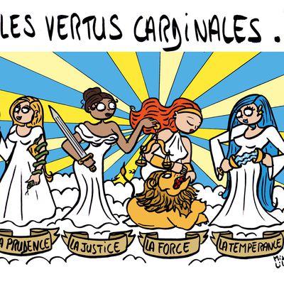 """Les Vertus cardinales"""