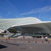 Santiago Calatrava - La Gare de Liège - LANKAART