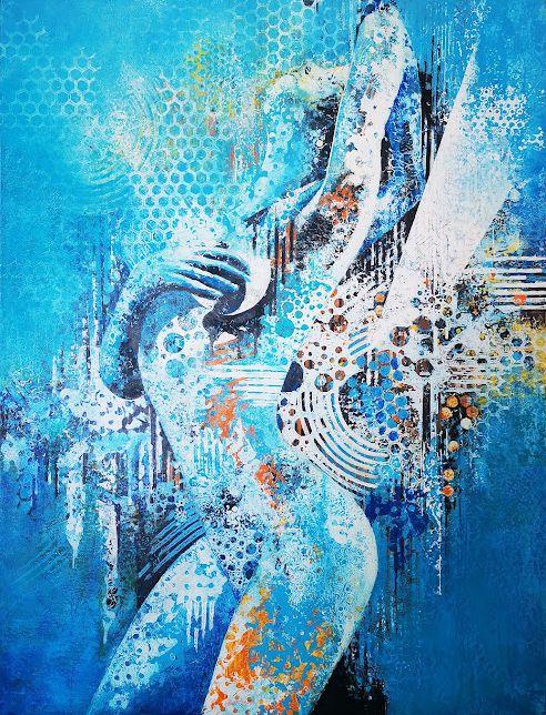 Acrylique sur toile (89x116)