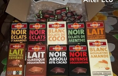 Test Produit #3 - Chocolats Alter Eco