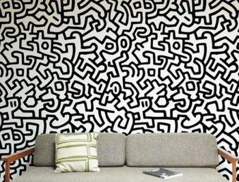 sfmoma:  rscottfrench:  keith haring wallpaper…  !