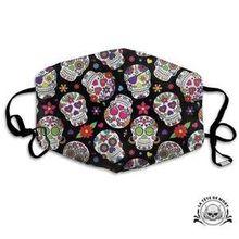 Avec ce masque soyez Peace And Love ! Avec ces jolies couleurs joyeuses !