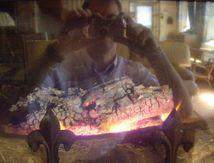 Auto-portrait brûlant