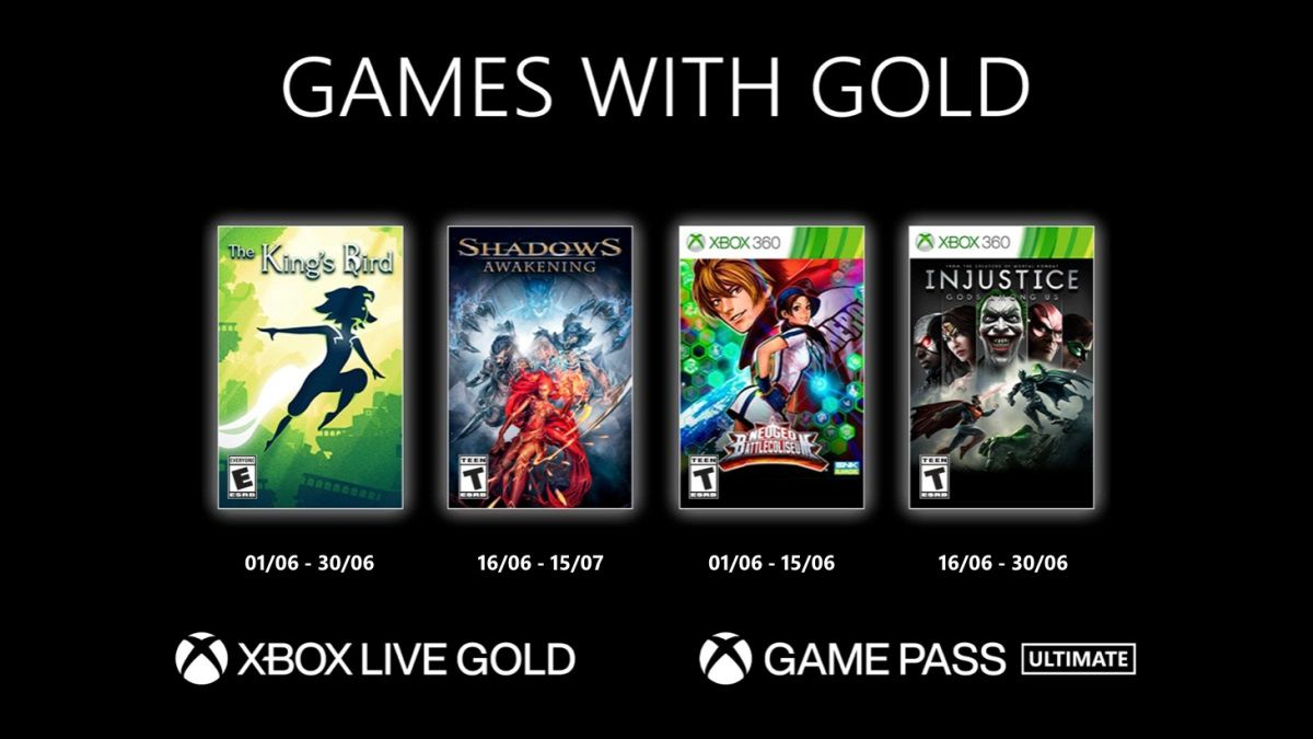 Games with Gold - Juin 2021