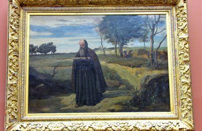 Camille Corot, Un moine lisant