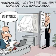 Train trop large de la SNCF ... (par MAN)