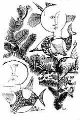 Tullio Pericoli et ses caricatures d'écrivains