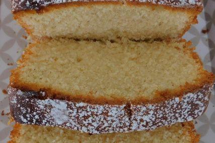 Cake à la vanille et à l'huile de noisettes