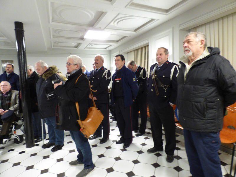 La tradition chez les Sapeurs-Pompiers de Neuf-Brisach : Ste Barbe