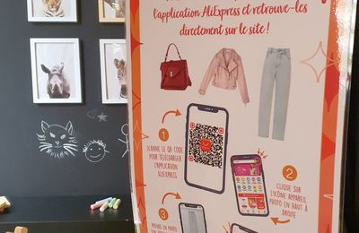 Voyage au cœur de la technologie photo scanning du Pop-up Store Aliexpress.