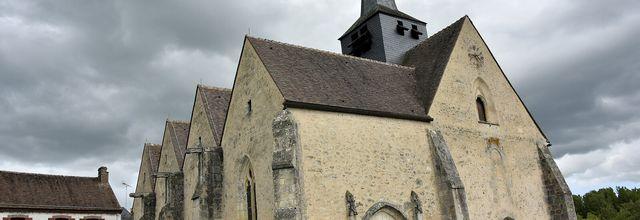 L'EGLISE DE SAINT-GERMAIN-DES-PRES (Loiret)