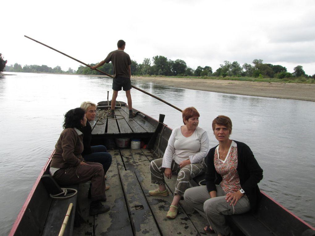 6) Visages en rivière