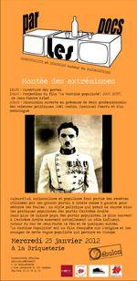 Zébulon présente son par les Docs le 25 janvier à la Briqueterie