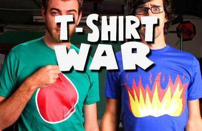 T-shirt war...une vidéo originale