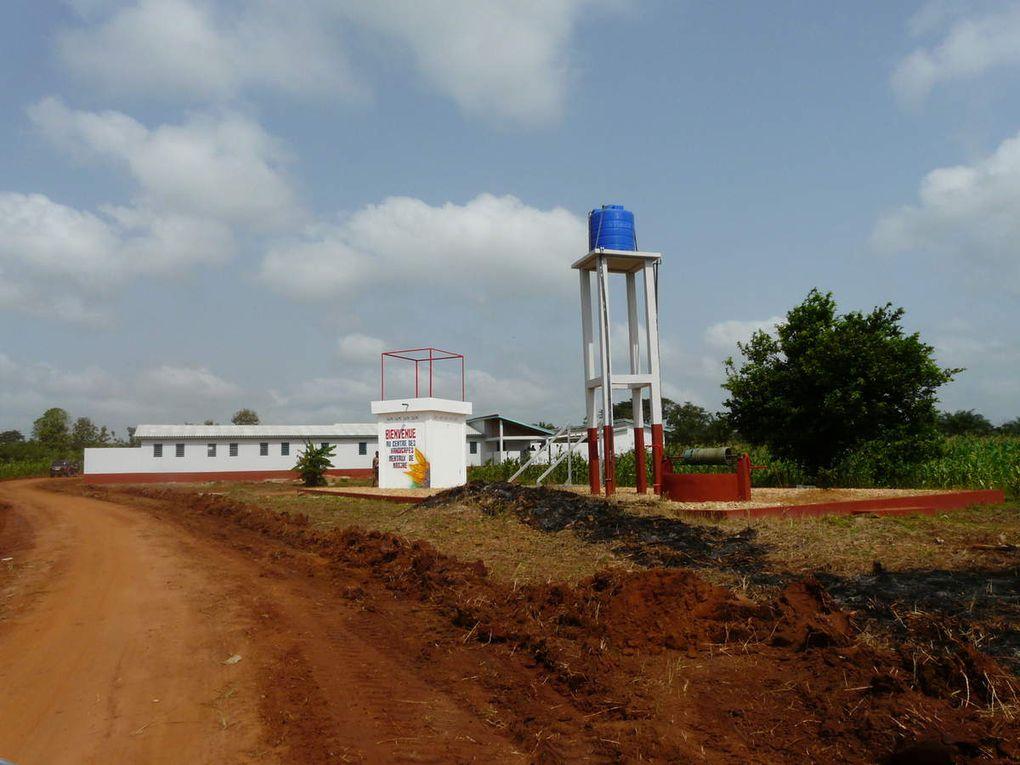 Le Centre Psychiatrique AP-CHM à Madjré.