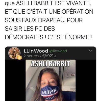 #USA : Ashli #Babbitt est vivante