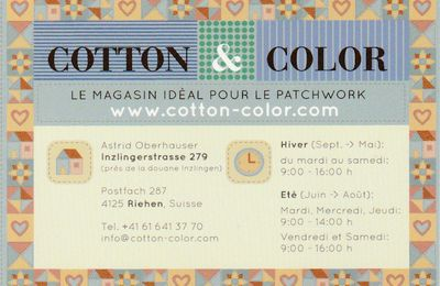 "Boutique ""Cotton & Color"" à Riehen (BS)"
