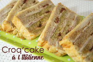 Le croq'cake à l'italienne