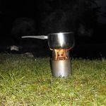 Kochen mit dem Holzvergaserofen