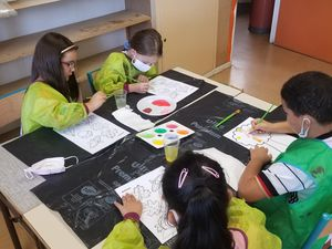 ME Crins : Ateliers cuisine et peinture