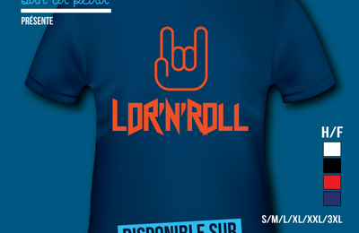T-shirt France: Lorraine - Lor'N'Roll.