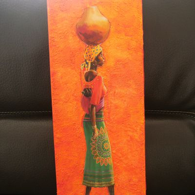tableau home deco africains