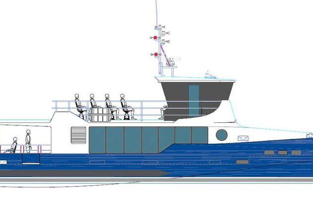 Commande de 3 navires à passagers hybrides en aluminium pour le chantier CNB Pro (33)