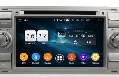 Autoradio GPS Android 9.0 FORD FOCUS 2005-2007 Mondeo 2003-2007 s-MAX2007-2009 C-MAX 2007-2009 Galaxy 2005-2007 Fiesta forme 2005 Fusion 2006-2011 connecter 2007-2009