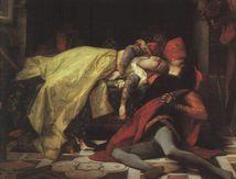 Francesca da Rimini et Paolo. la Mort