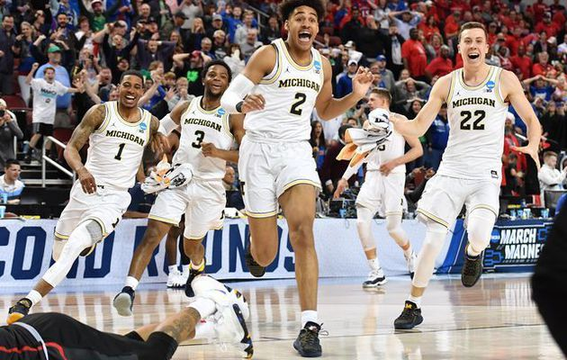 March Madness : Jordan Poole sauve Michigan au son de la sirène, Gonzaga vient à bout d'Ohio State