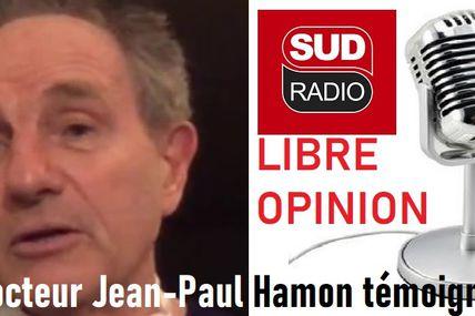 Soignants sacrifiés : l'indignation de Jean-Paul Hamon, président de la fédération des Médecins de France