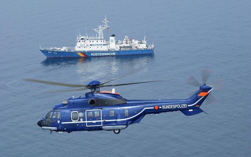 La police allemande commande trois hélicoptères H215 Super Puma supplémentaires