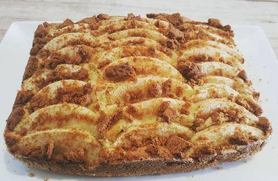 Moelleux aux pommes et spéculoos au Cake Factory