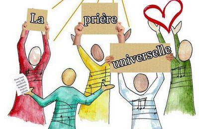 PRIÈRE UNIVERSELLE, UNITÉ DES CHRÉTIENS