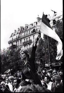 Photo de militants en campagne