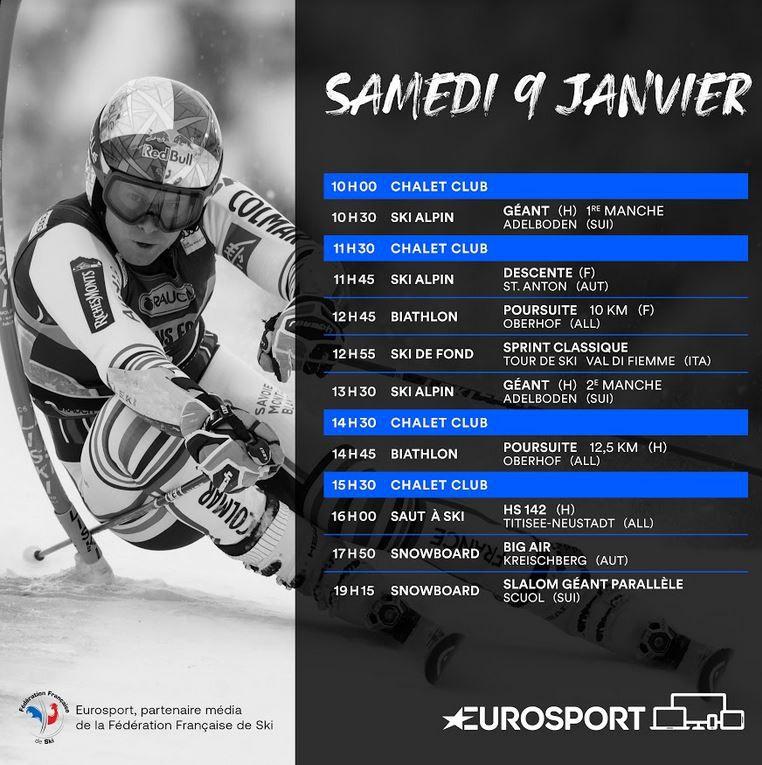 La Descente Dames de St Anton en direct ce samedi sur Eurosport !