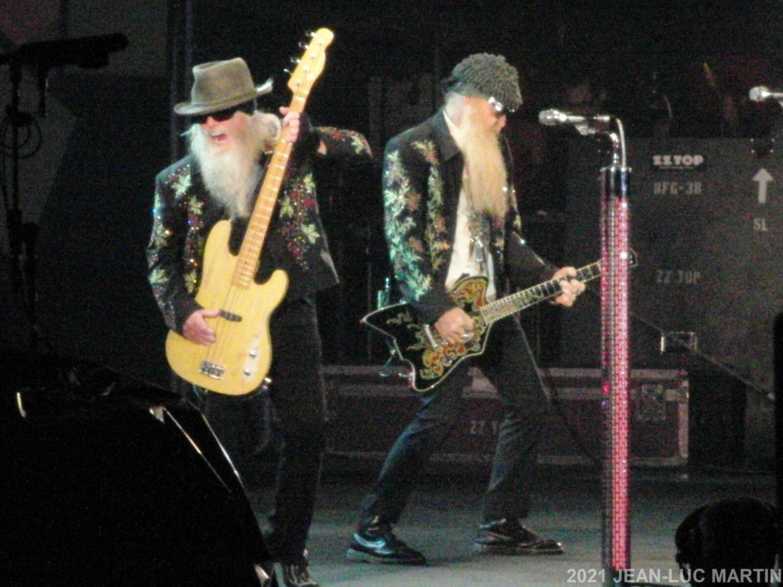HOMMAGE A DUSTY HILL (ZZ TOP) DECEDE LE 28/7/2021