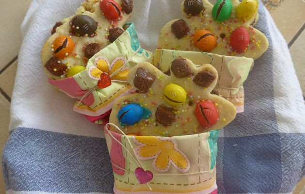 [ Biscuit Recipe n° 4 ] : Mes Adorables Biscuits M&M's/Brownie/Marshmallows ! :)