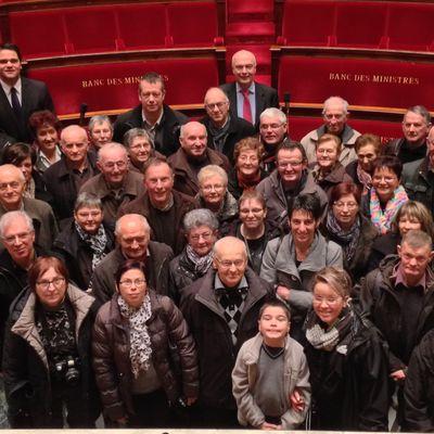 Plouguenast : 50 personnes ont visité l'Assemblée Nationale.