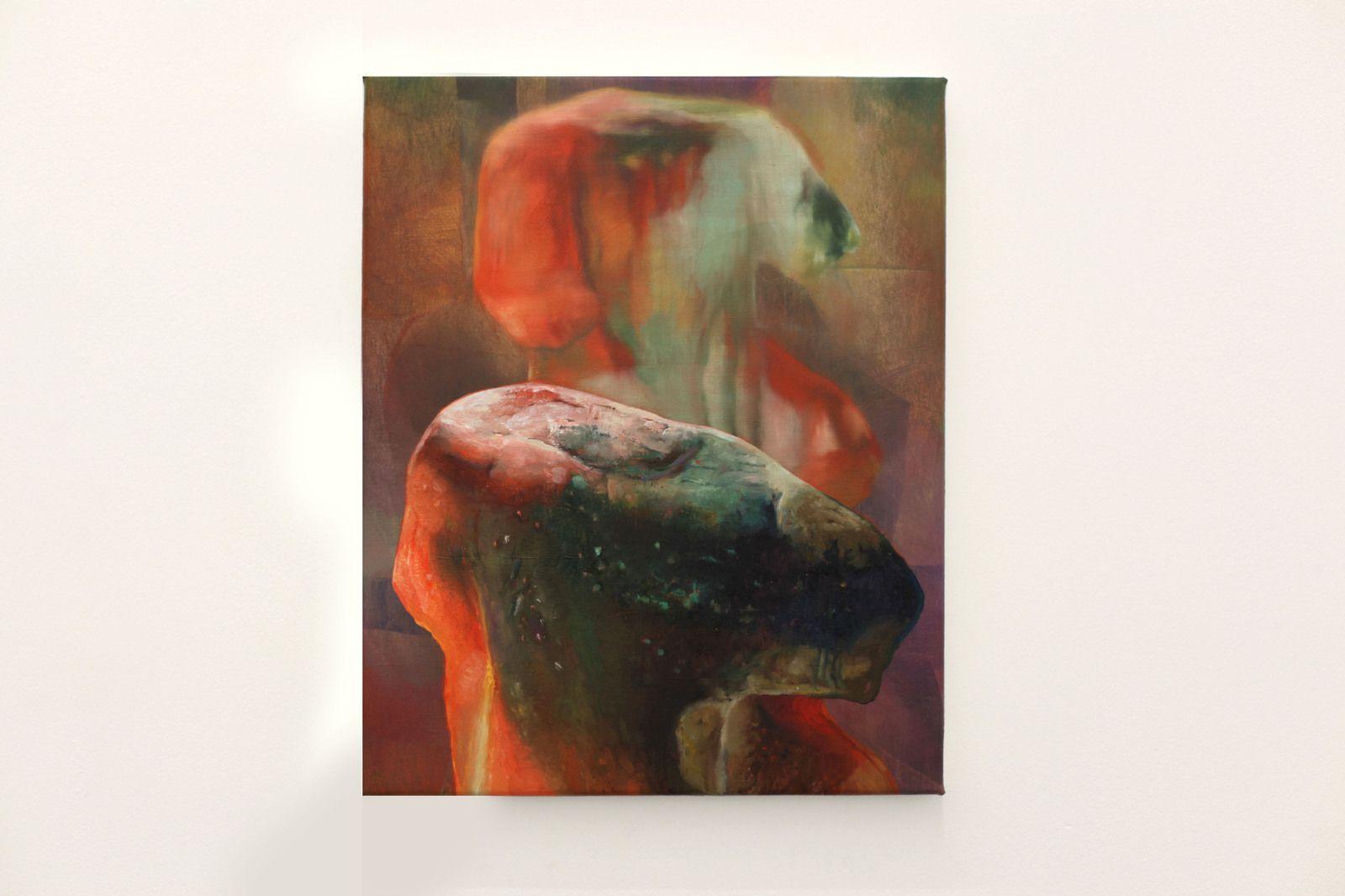 """""""Buste"""", 2021 de Maude MARIS - Courtesy de l'artiste et de la Galerie PRAZ-DELAVALLADE PARIS © Photo Éric Simon"""