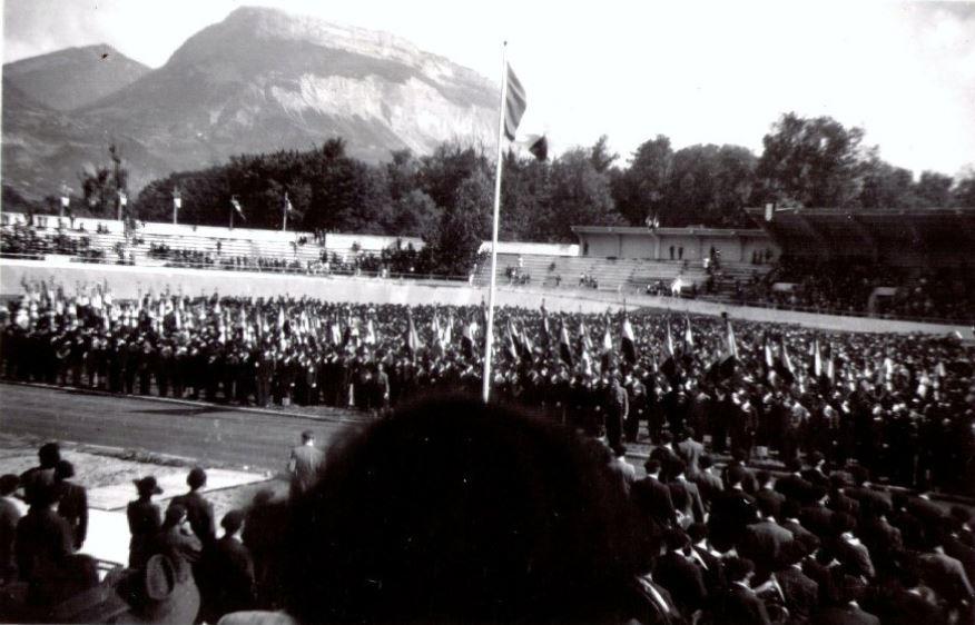 31 Aout 1941 -1er anniversaire de la LFC au stade Charléty