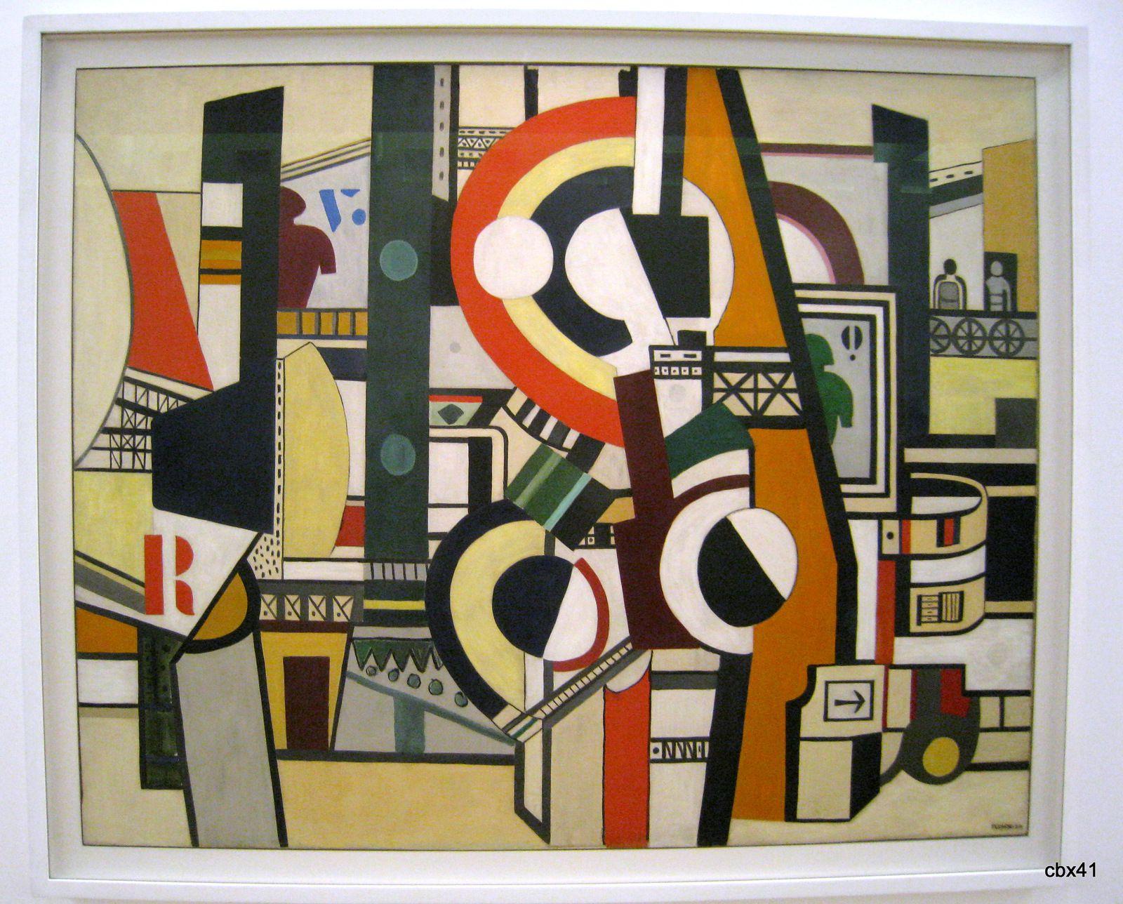 Fernand Léger, Les disques dans la ville