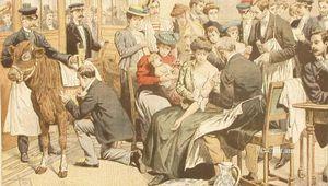 Au temps de l'épidémie de variole en France en 1869