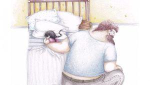 Ilustraciones de padres e hijas que te harán llorar ¡emotivas!