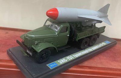 ZIL-151 missile P-15 Termit  (MBK - 1/43)